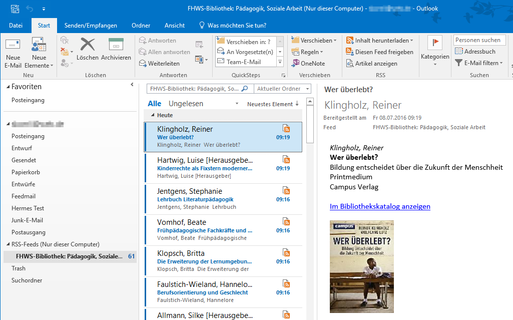 Feed abonnieren in Outlook 4